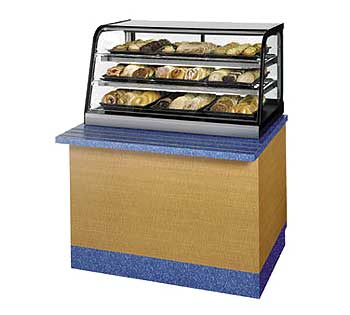 Cd Ss Non Refrigerated Display Case