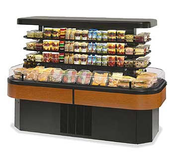 Federal Industries Imss84sc 2 Self Serve Display Case