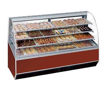 Sn Non Refrigerated Display Case Product Photo