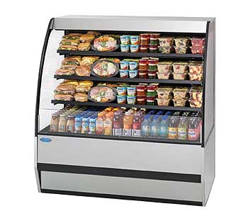 Federal Ssrpf Inch Self Serve Display Case Product Photo