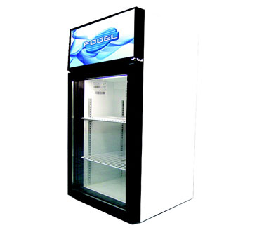 Fogel Countertop Glass Door Refrigerator 3 12 Cu Ft