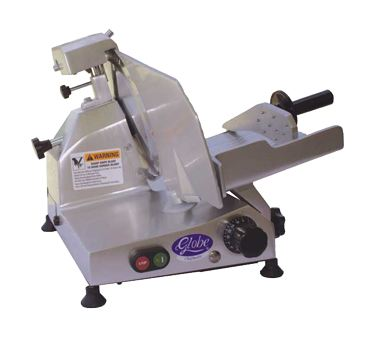 Globe C10 Chefmate Commercial Manual Electric Food Slicer, 10 Inch Knife