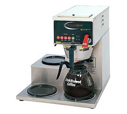 Magnificent Grindmaster Precision Brew Coffee Brewer Product Photo
