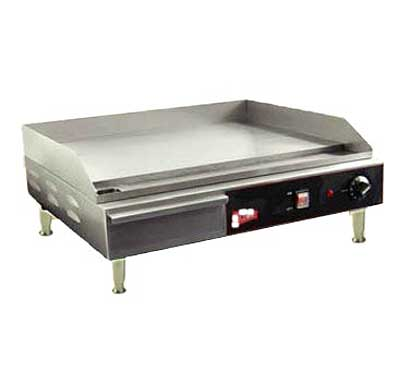 "Grindmaster Countertop Electric Griddle EL1624, 24""W x 16""D"