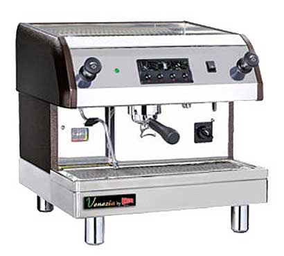 Cecilware Venezia II Espresso Machine, 1 Head, 240 Volts