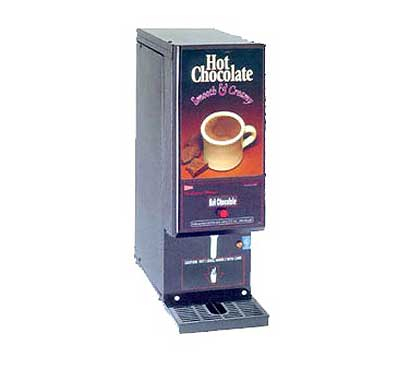 Grindmaster Compact Whipper Hot Chocolate Dispenser - GB1HC-CP