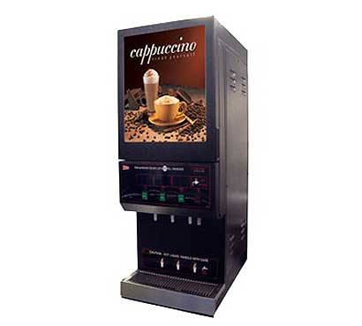 Grindmaster Feature Flavor Hot Cappuccino Dispenser - GB3M10-LD-U