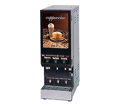 Grindmaster Feature Flavor Hot Cappuccino Dispenser - GB3M10-LD