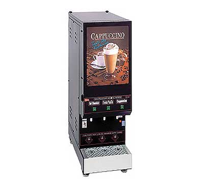 Grindmaster Space Saver Hot Cappuccino Dispenser - GB3M5.5-LD