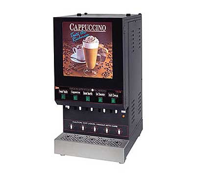 Grindmaster Feature Flavor Hot Cappuccino Dispenser - GB5M10-LD