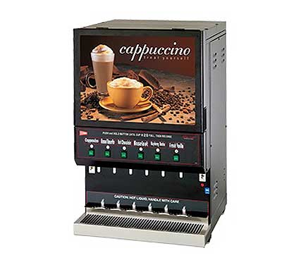 Grindmaster Destination Cappuccino Dispenser - GB6M10-LD-U