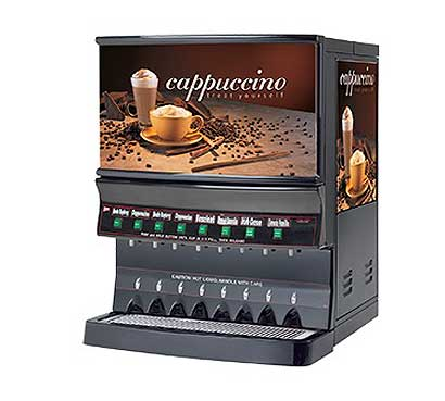 Grindmaster Panorama Cappuccino Dispenser - GB8MP-10-LD-U