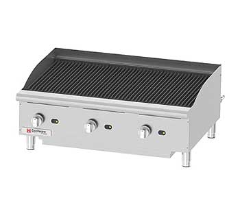 Cecilware Pro Charbroiler - CCP36