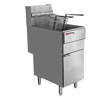 Grindmaster Cecilware Pro Gas Fryer - Propane Gas, FMS403LP