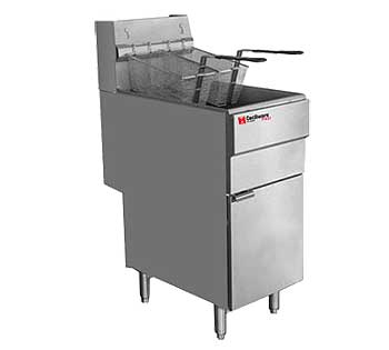 Grindmaster Cecilware Pro Gas Fryer - Propane Gas, FMS504LP