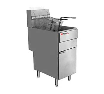 Grindmaster Cecilware Pro Gas Fryer - Natural Gas, FMS705NAT