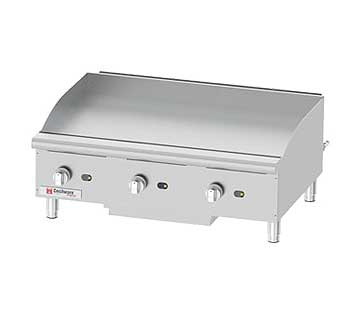 """Grindmaster Cecilware GCP36 Pro Countertop Gas Griddle, 36"""" Wide"""