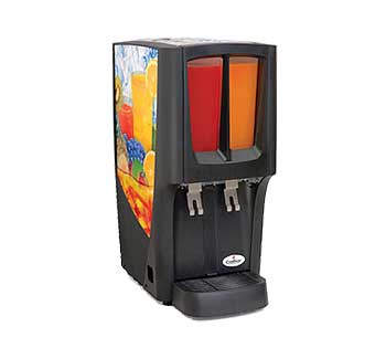 Crathco Mini-Duo Cold Beverage Dispenser - C-2S-16