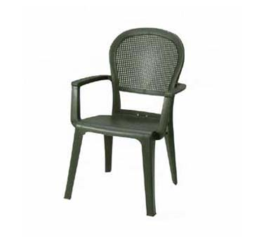Grosfillex Seville Highback Armchair US105002, Set of 4