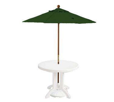 Grosfillex Wooden Market Umbrella 7 ft - 98942031