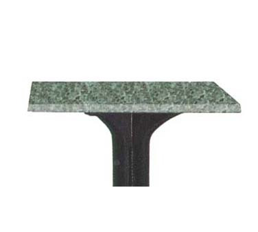 "Grosfillex Exterior Table Top 24"" square - 99525125"