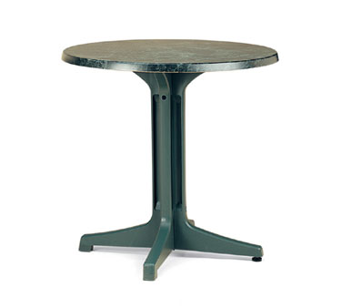 "Grosfillex Exterior Table Top 30"" round - 99832002"
