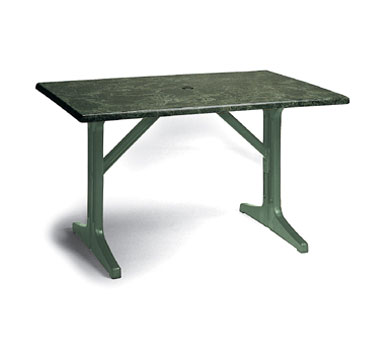 "Grosfillex Exterior Table Top 48"" x 32"" - 99851204"