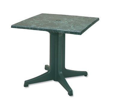 "Grosfillex Exterior Table Top 36"" Square - 99872025"