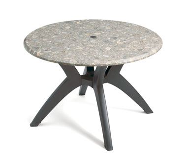 "Grosfillex Exterior Table Top 42"" round - 99881002"