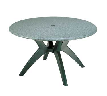 "Grosfillex Exterior Table Top 48"" round - 99891325"
