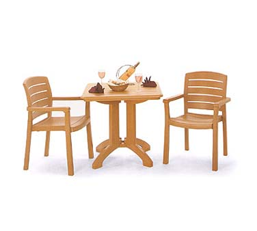 Grosfillex Acadia Dining Armchair US119008, Set of 4