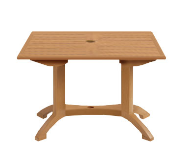 "Grosfillex Winston 48"" x 32"" Table - US240808"