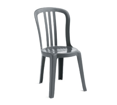 Grosfillex Miami Bistro Stacking Sidechairs