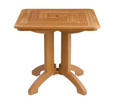 "Grosfillex Atlantis 32"" Square Table - US643008"