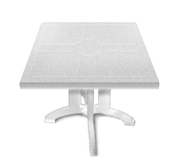 Grosfillex Vega Folding Tables US810004, One Dozen