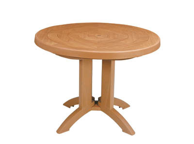 "Grosfillex Atlantis 38"" Round Table - US920008"