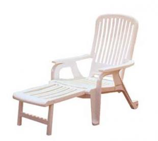 Grosfillex Bahia Resin Deck Chair, Set of 10 - 47658004