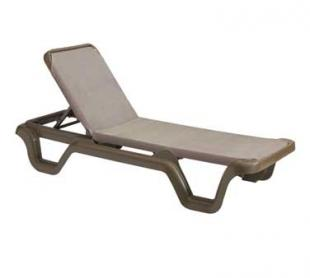 Grosfillex Marina Sling Chaise Lounge - 99515137