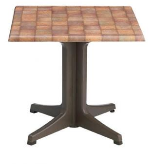 "Grosfillex Exterior Table Top 32"" Square - 99841108"
