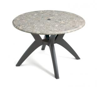 "Grosfillex Exterior Table Top 42"" round - 99881025"