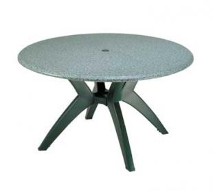 """Grosfillex Exterior Table Top 48"""" round - 99891325"""
