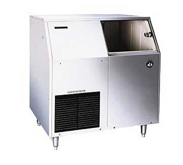 Hoshizaki F-300BAJ Self Contained Flaker Ice Machine with Storage Bin