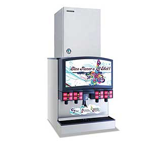 Hoshizaki Serenity Ice Maker Cubelet-Style remote air-cooled