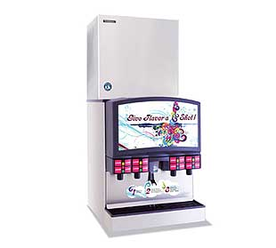 Hoshizaki Serenity Ice Maker Cube remote air-cooled