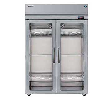 Professional Refrigerator Reach In Sect Hinged Full Glass Doors