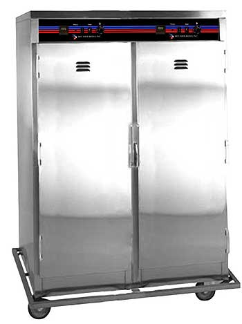 Hot Food Heated Cabinet 2-door - C16D2