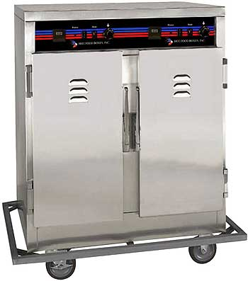 Hot Food Heated Cabinet half 2-door - C5D2