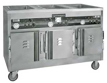 SecoSelect Hot Food Serving Cart - CW3