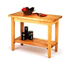 Johnboos Country Work Table - #C01