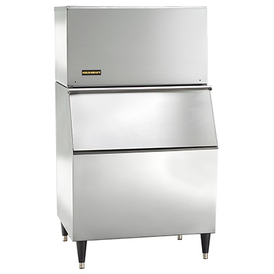 Kold-Draft Full Size Extra-Large Cube Ice Machine, Slim Series, 458 Lbs Ice Production- GT561AC